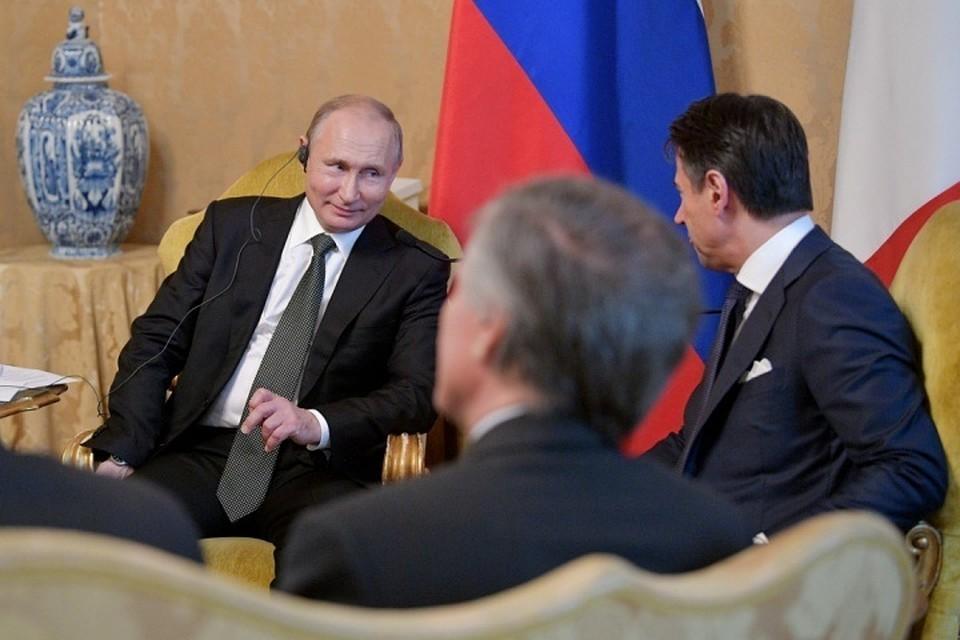 Берлускони рассказал о дружеских отношениях с Путиным