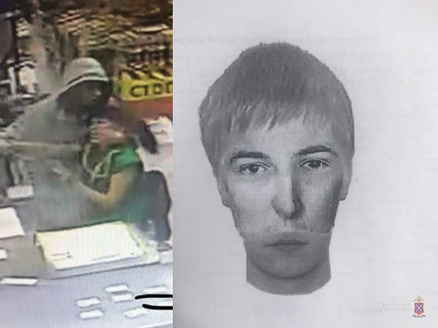 31175a8bda547 В Волгограде ищут грабителя, пытавшегося украсть кассу в магазине