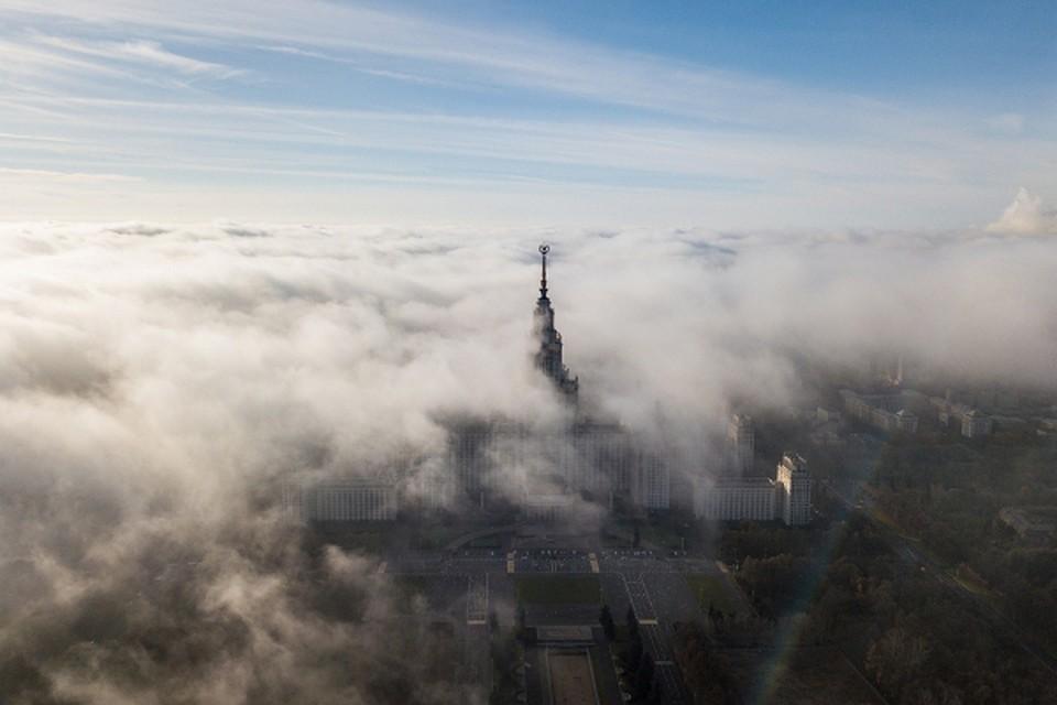 В Москве и Подмосковье введен «желтый» уровень погодной опасности