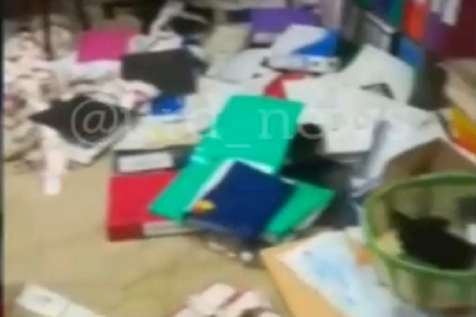 ФОТО: скриншот видео телеграм-канала Urb_news