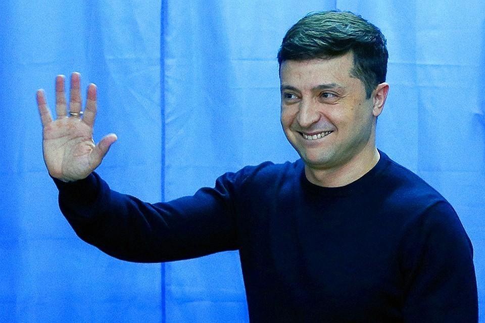Владимир Зеленский посетил границу с Крымом