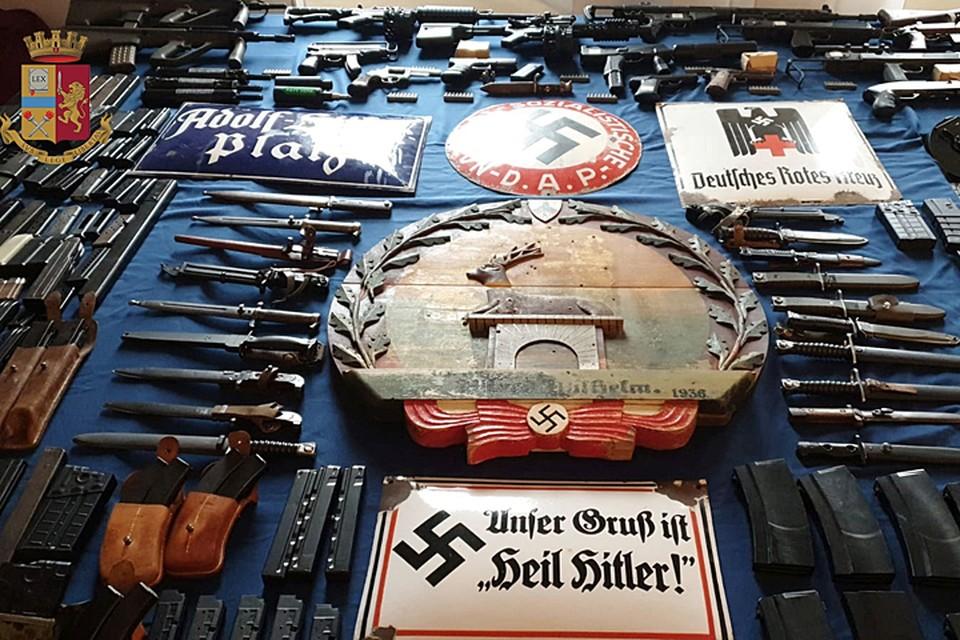 Вскрытие нацистского арсенала, связанного с Украиной, должно серьезно насторожить итальянские специальные службы