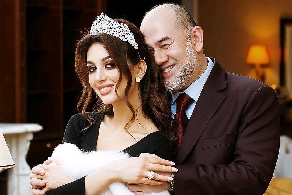 Оксана Воеводина разводится с бывшим королем Малайзии