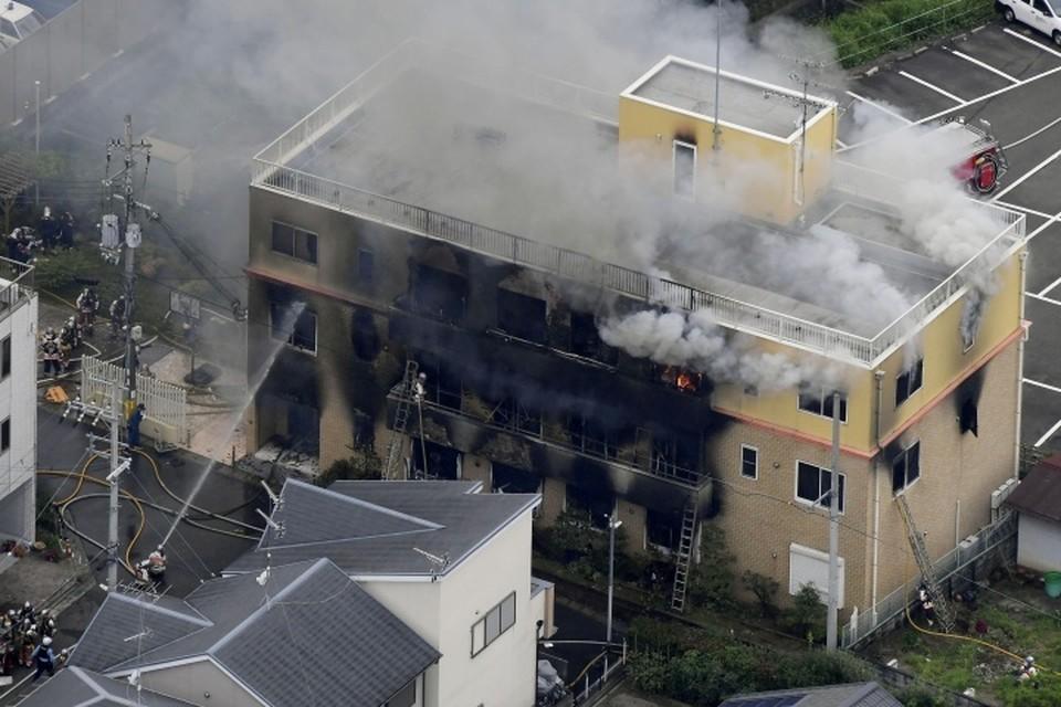 Причиной крупного пожара стал поджог