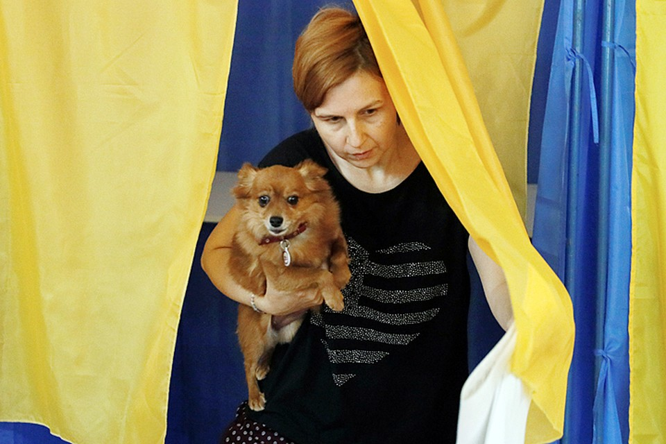 В списках избирателей Украины числится 34 миллиона человек