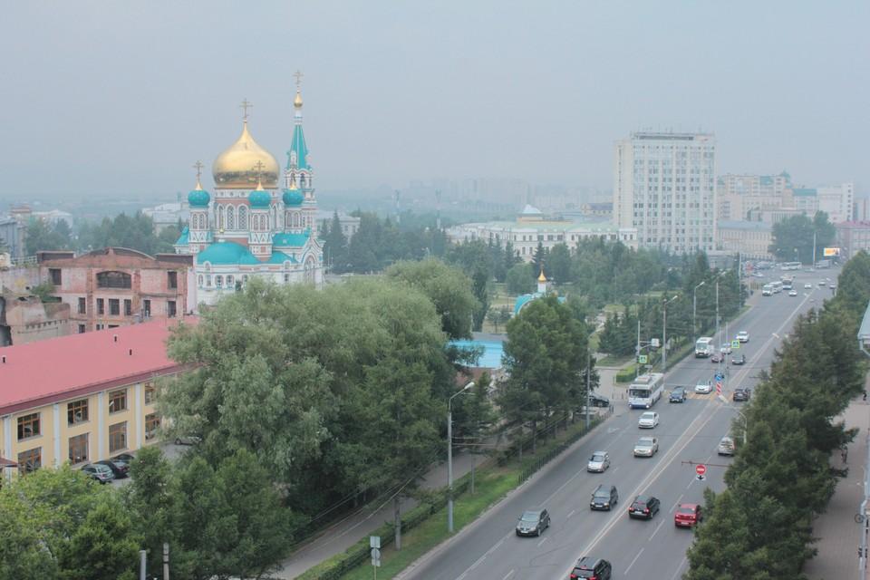 Смог в Омске рассеется только к выходным