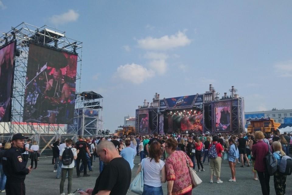На фестиваль пришли тысячи людей