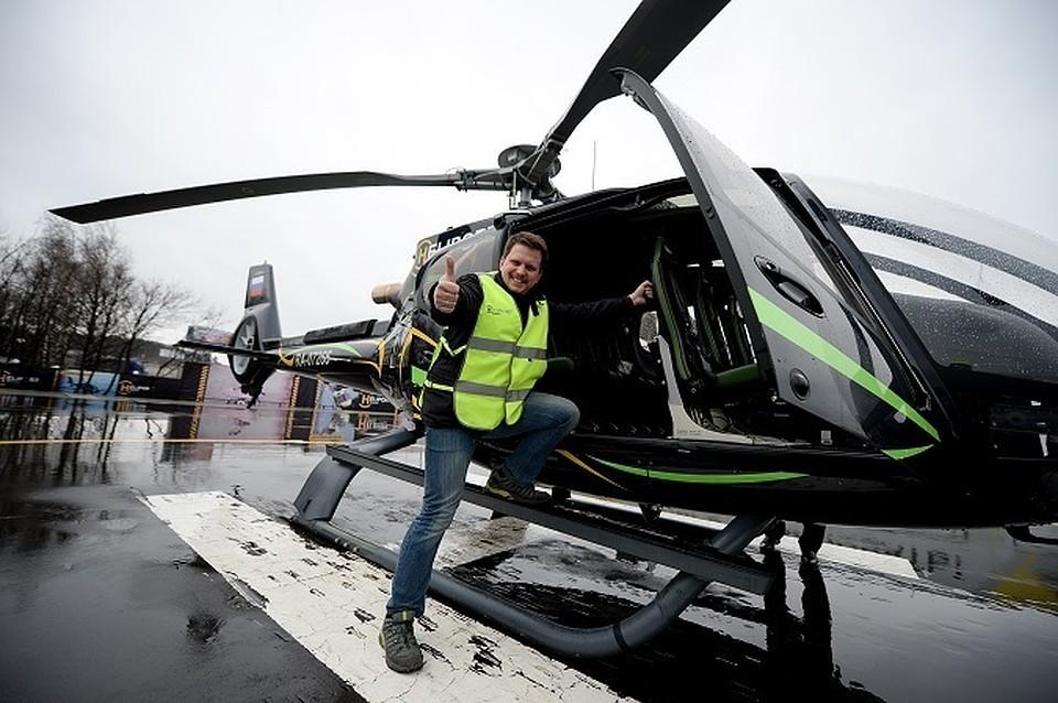 Гостей МАКС будут доставлять на площадку на вертолетных такси