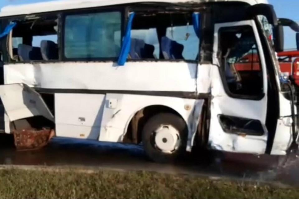 В Татарстане в ДТП с автобусом и грузовиком пострадали 11 человек
