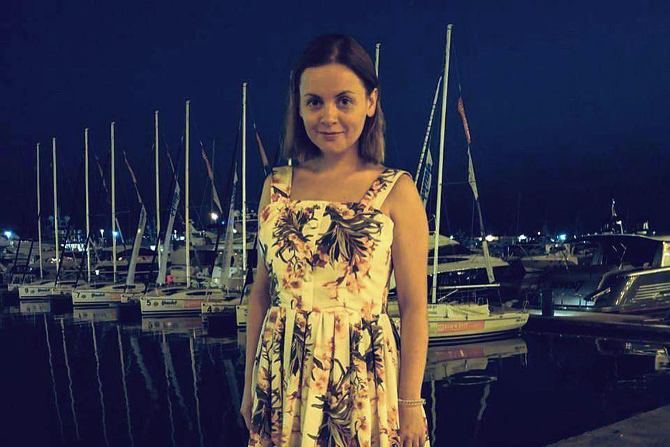 Юлия Проскурякова отправилась на Черноморское побережье