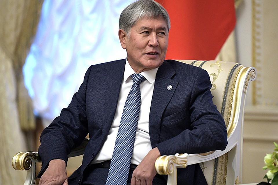 Источники в правоохранительных органах сообщили, что спецоперация завершилась задержанием Алмазбека Атамбаева
