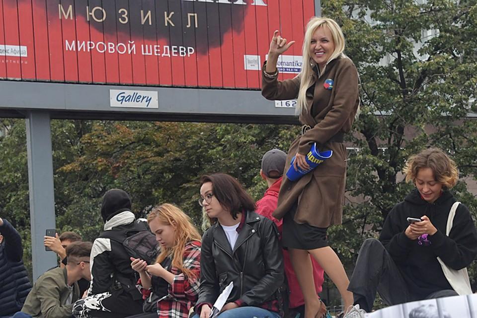 Организаторы заявили митинг на 100 тысяч участников