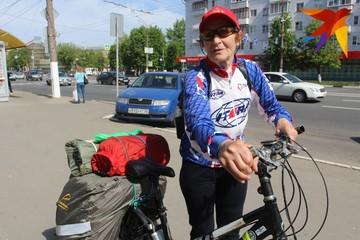 «Вся Россия здесь!»: 78-летняя велопутешественница из Твери доехала до Крыма