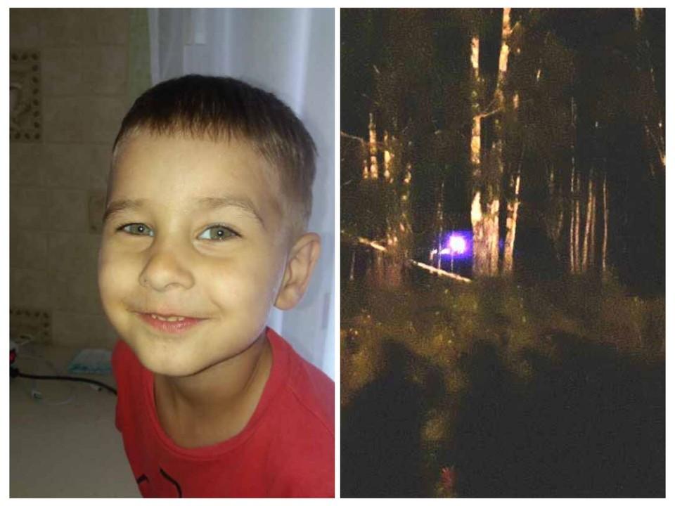 3-летний Коля Бархатов потерялся в заболоченной местности на севере Омской области.