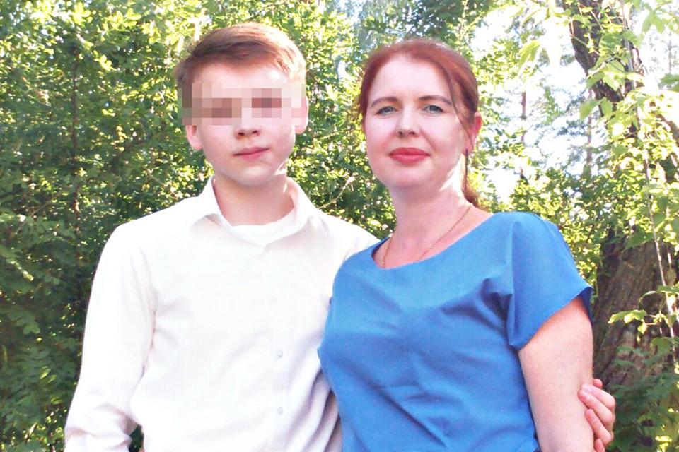 Марина гордилась сыном. Фото из семейного архива