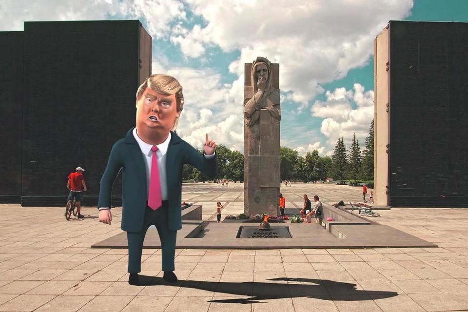 Современные технологии перенесут Дональда Трампа в Новосибирск. Фото: Mappi.