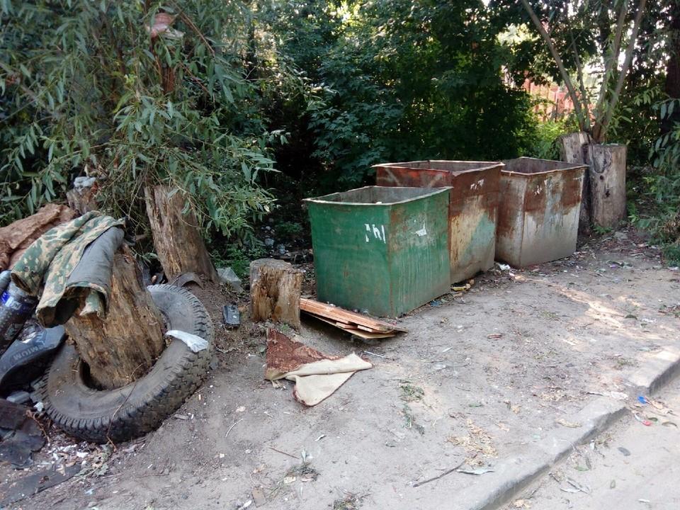 Главный залог чистоты - регулярный вывоз мусора
