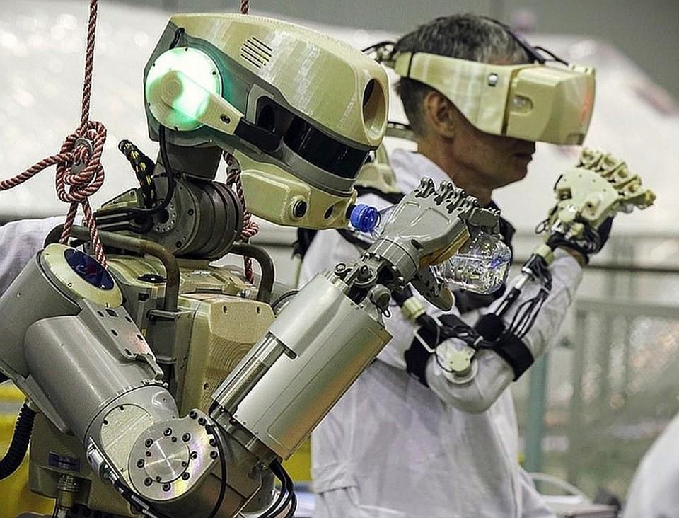 Федор - первый робот в космосе
