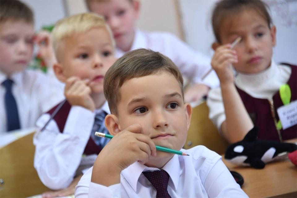 Первое сентября - волнительное время для маленьких школьников