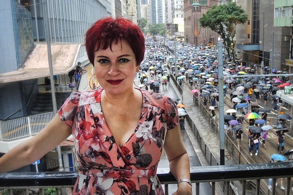 Спецкор «КП» Дарья Асламова в Гонконге.
