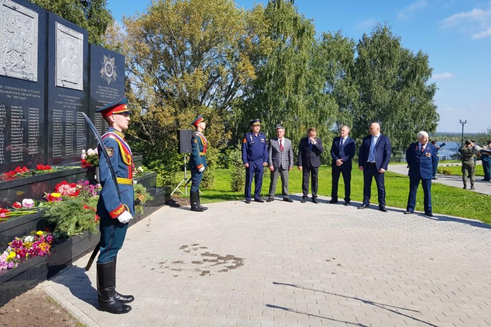 При поддержке Благотворительного фонда ЛУКОЙЛ построен мемориал