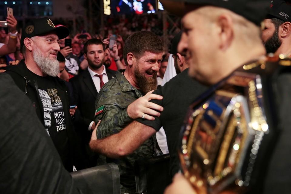 Рамзан Кадыров лично поздравил Хабиба с победой над Порье