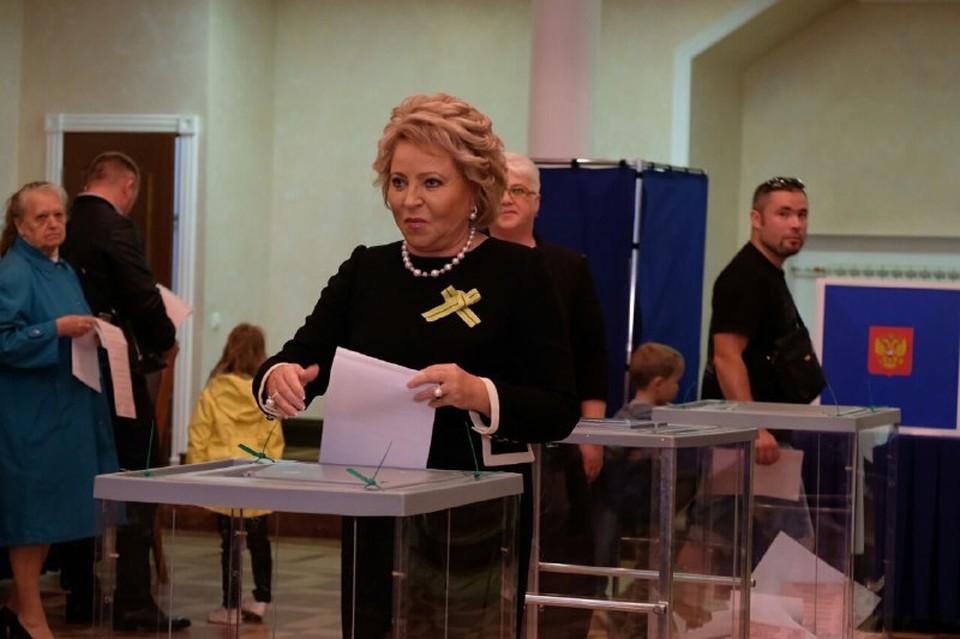 Валентина Ивановна о выборах губернатора в Санкт-Петербурге: Считаю этот день очень важным.