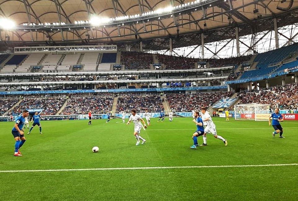 Сине-голубые наконец-то прервали свою серию проигрышей и вырвали победу на своем стадионе!