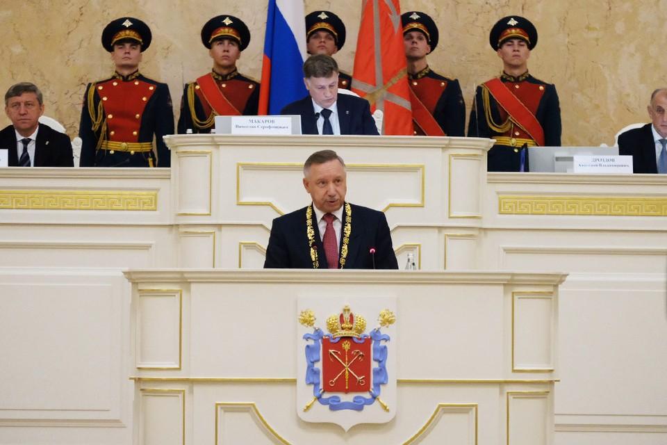 Александр Беглов официально стал губернатором Санкт-Петербурга