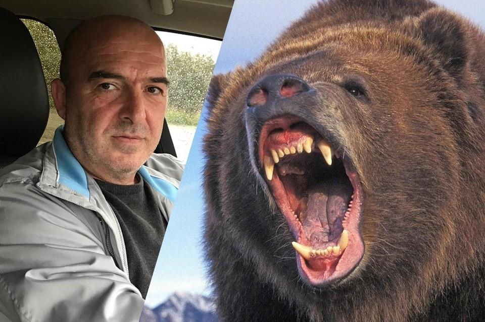 Грибник считает, что медведь был сытый. Это спасло ему жизнь. Фото: предоставлено Сергеем