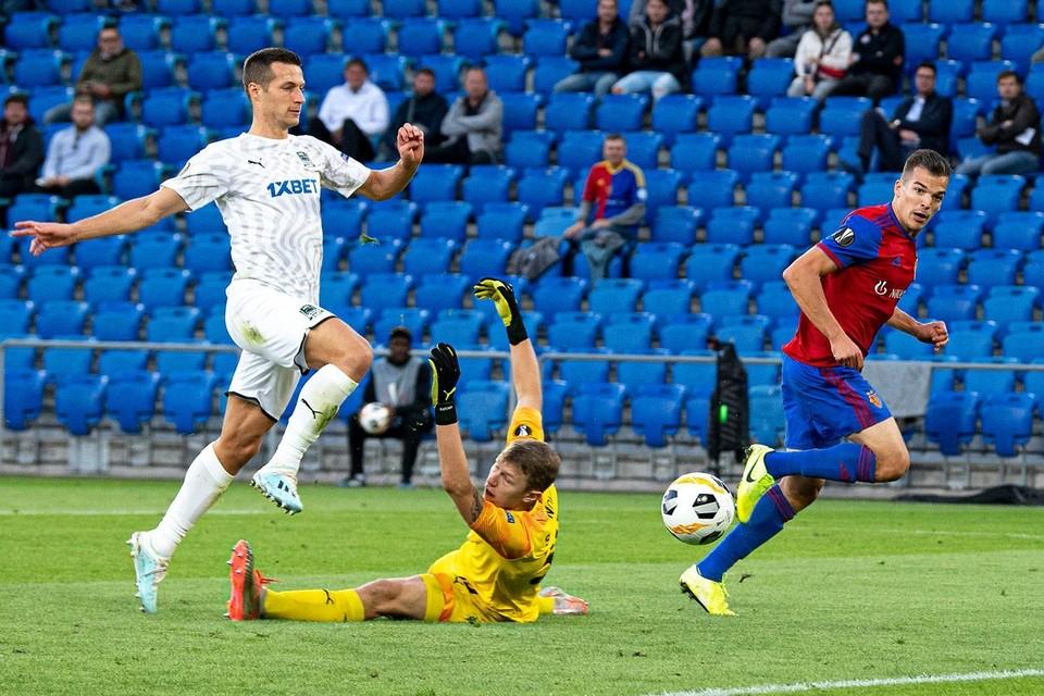 Базель уничтожил Краснодар в первом матче группового этапа Лиги Европы