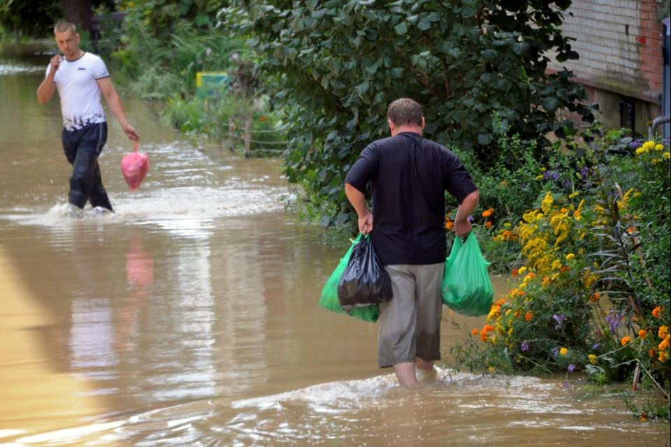 Тропический шторм опять может потопить Приморье