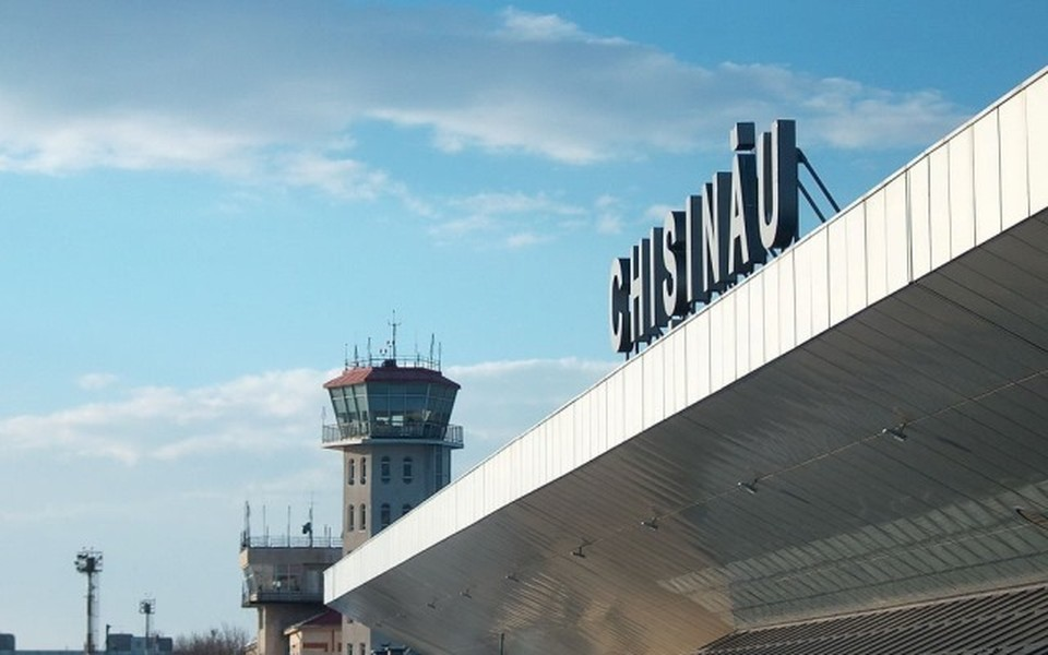 Аэропорт Кишинева.