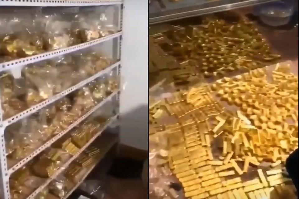 В подвале у китайского чиновника нашли 13,5 тонн золота