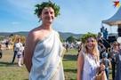 WineFest 2019: По виноградникам Балаклавы разгуливал Дионис, а публику угощали средневековыми блюдами