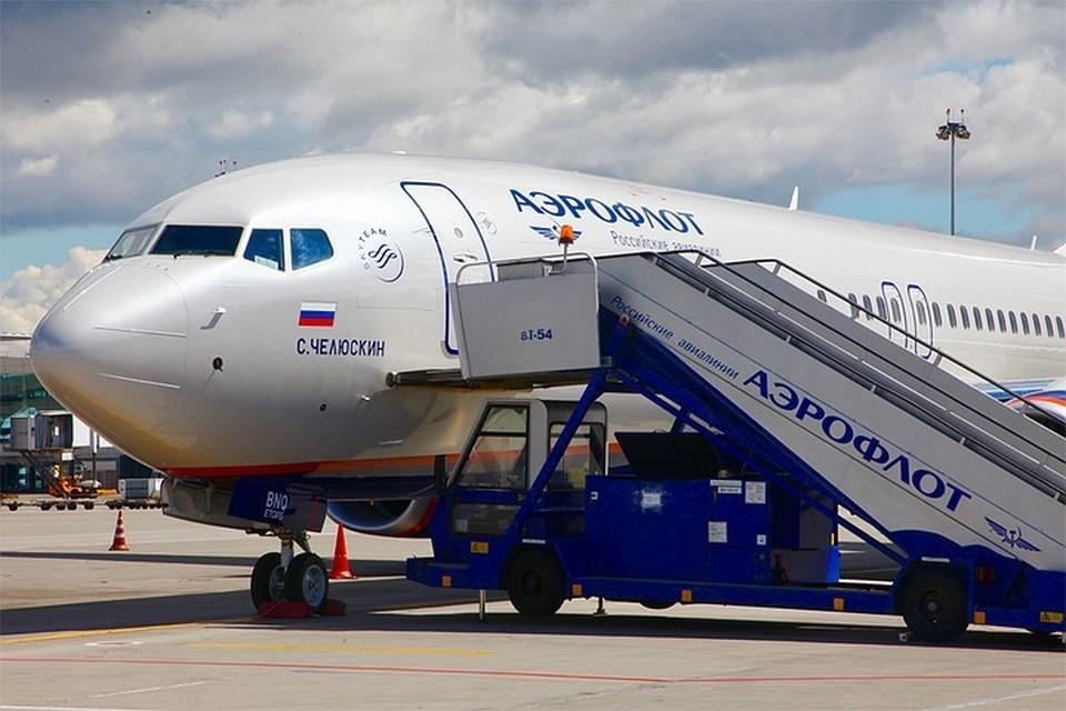 """Акция """"Больничный лист"""" не получила массовой поддержки среди сотрудников Аэрофлота. Фото: aeroflot.ru"""