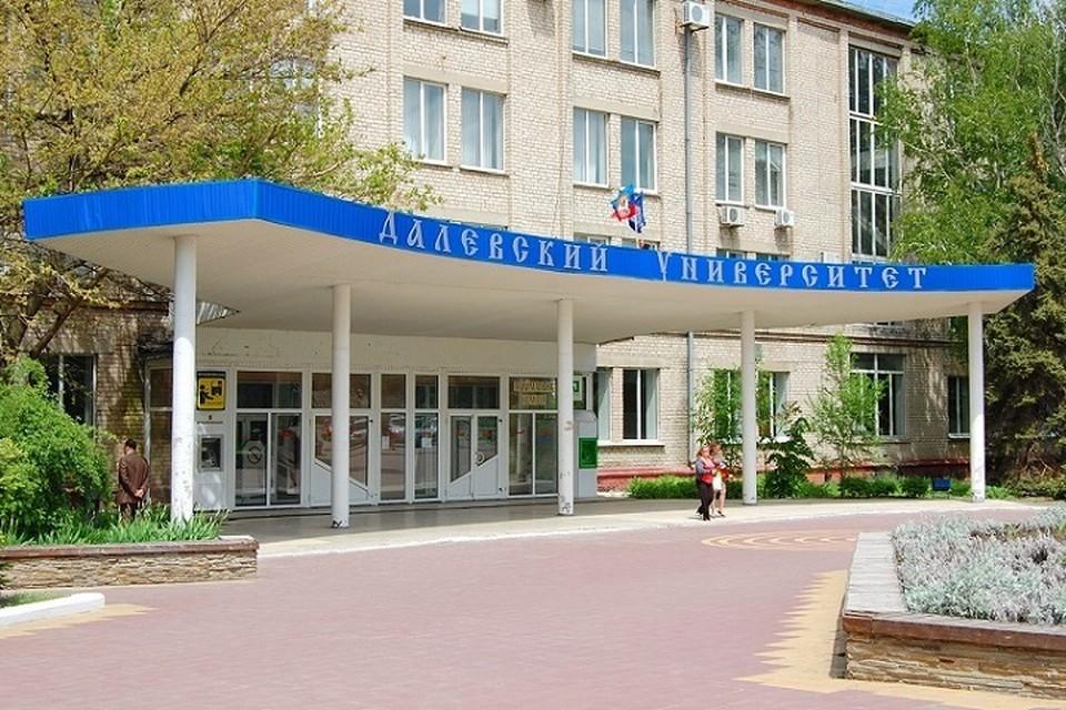 Эвакуация студентов и преподавателей прошла в 1, 2, 3 и 4 корпусах ЛНУ им. Даля. Фото: gtrklnr.com