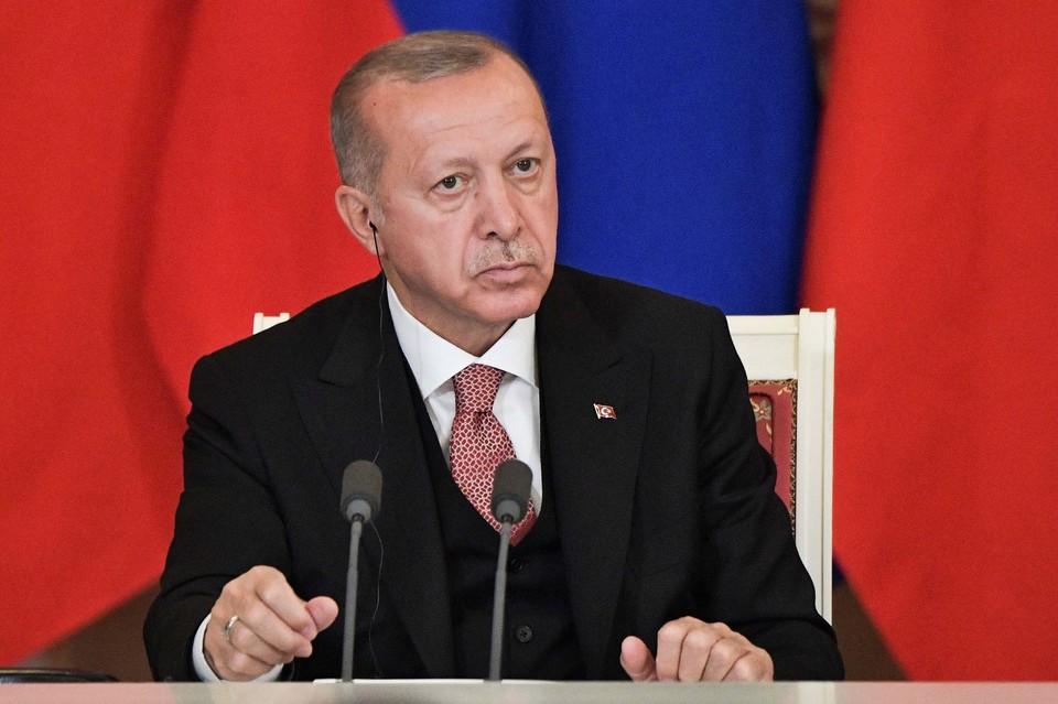 Турецкий лидер Реджеп Тайип Эрдоган