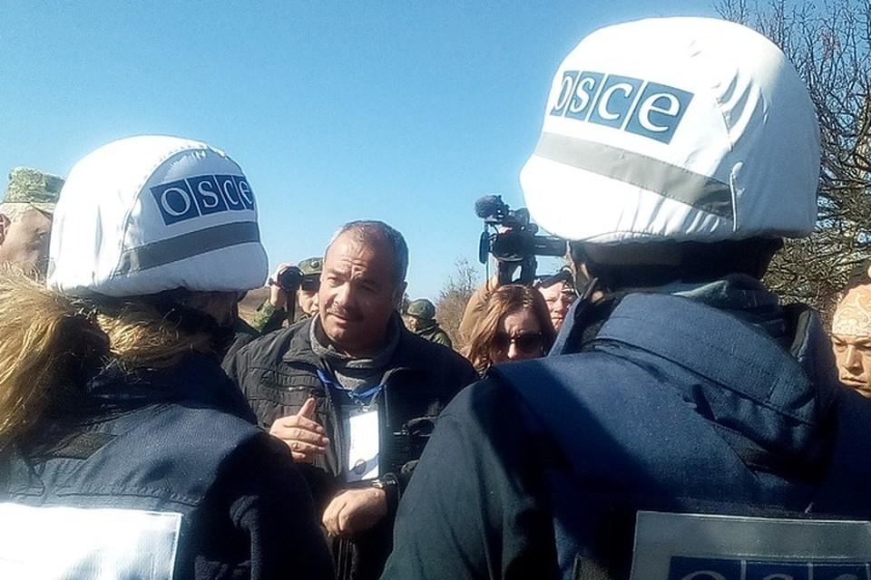 Процесс по устранению зафиксированных ОБСЕ нарушений на участке разведения «Петровское–Богдановка» второй день подряд не может начаться