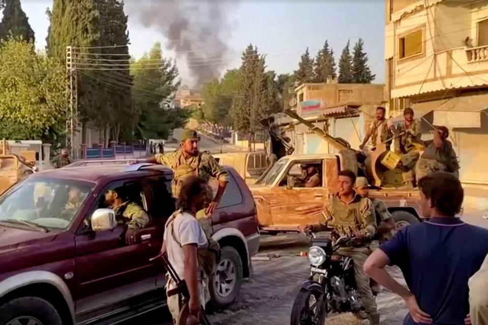 На территории Идлибской зоны деэскалации продолжаются нарушения режима прекращения боевых действий