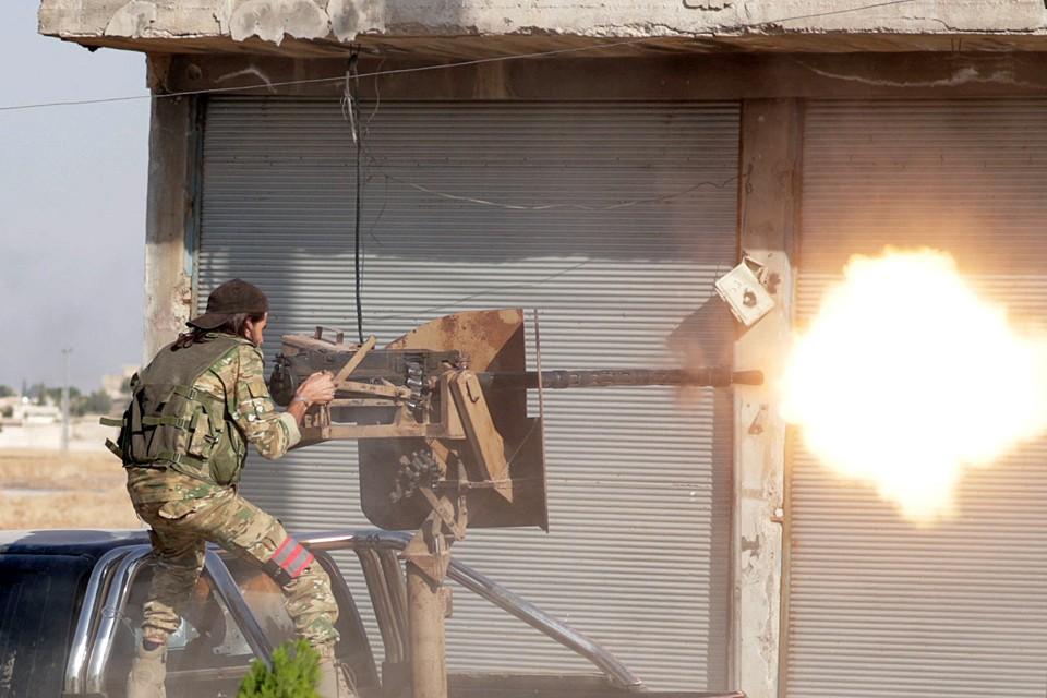 Hа севере Сирии появились первые жертвы