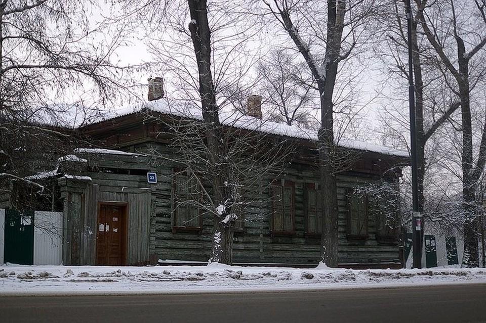 Дом врача Аркадия Рассушина в Иркутске. Фото: Яна Ушакова.