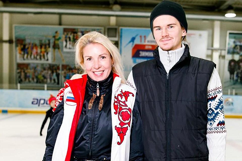 Ирина Лобачева с мужем Иваном Третьяковым
