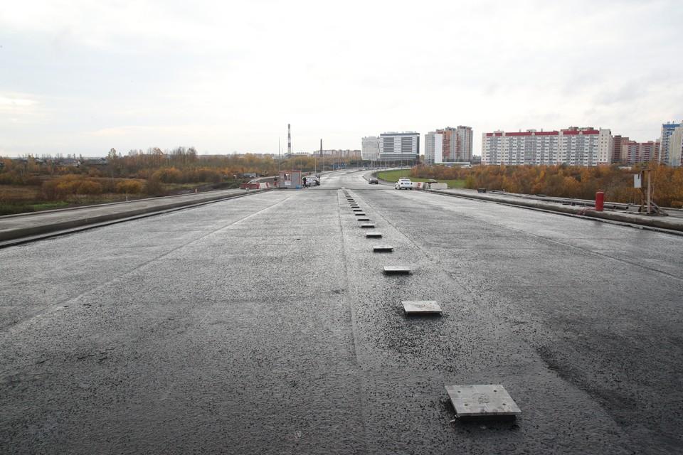 Реконструкция Оборонной улицы и строительство на ней путепровода могут завершить к 1 декабря. Фото: gov.spb.ru
