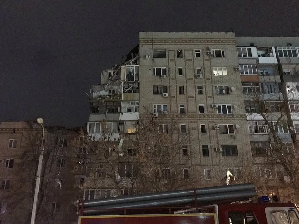 Основные разрушения пришлись на верхние этажи.Фото: соцсети
