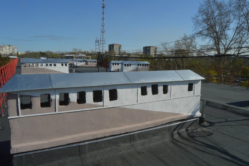 В Хабаровске установили рекорд по ремонту крыш ФОТО: Фонд капитального ремонта многоквартирных домов