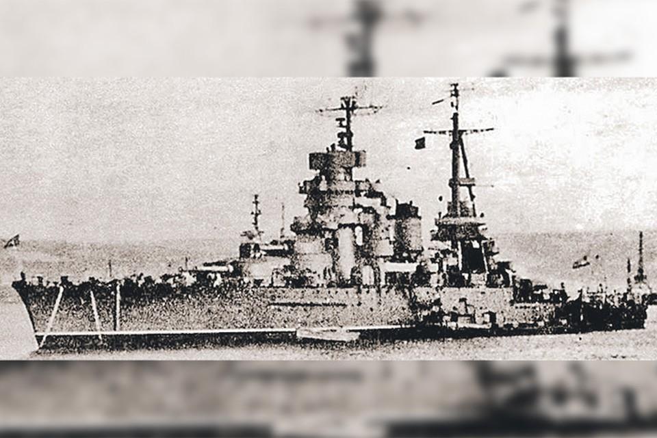 Линкор «Новороссийск», 1950 год.
