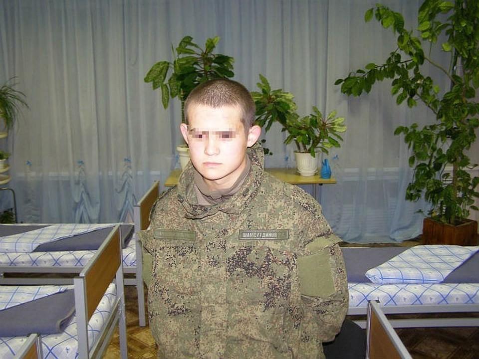 """""""Забайкальский стрелок"""" Рамиль Шамсутдинов, устроивший бойню в воинской части под Читой, арестован на 2 месяца."""