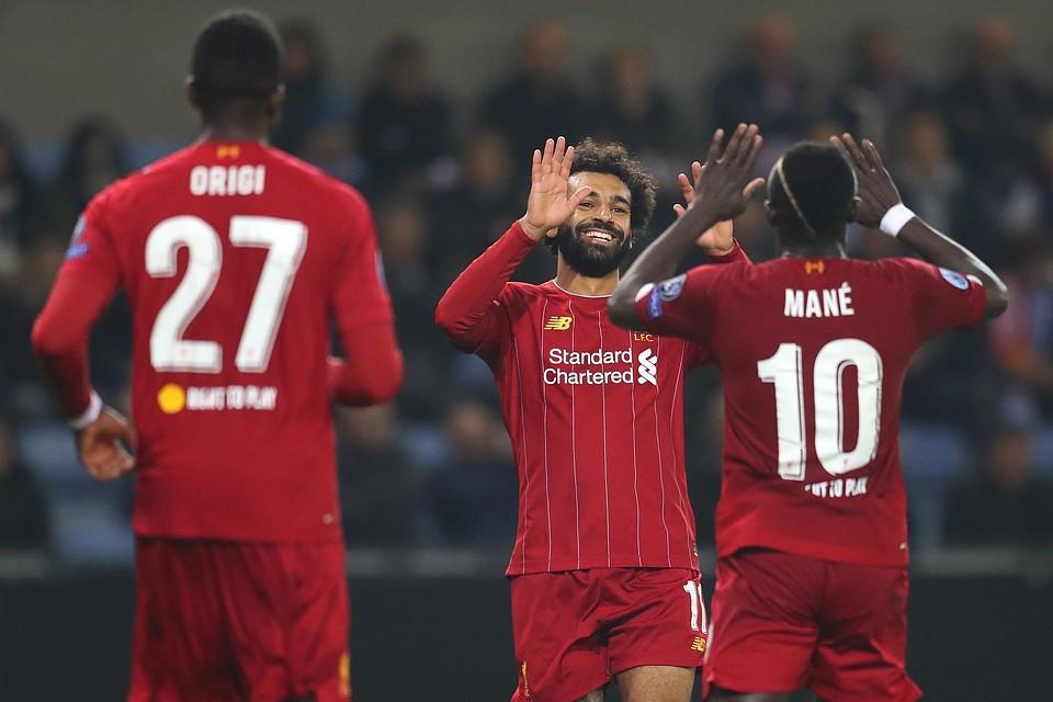 Ливерпуль - Арсенал 30 октября прямой эфир