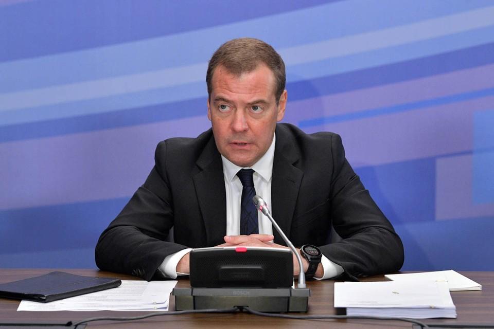 Дмитрий Медведев подписал поручения, которые должны подстегнуть экономический рост. Фото: Александр Астафьев/ТАСС